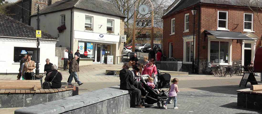 King Street Square Thetford